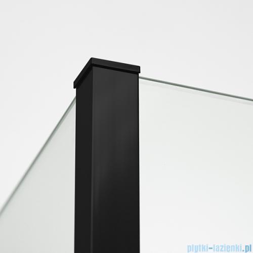 New Trendy New Modus Black kabina Walk-In 130x30cm przejrzyste detale