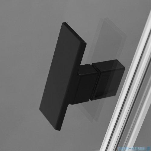 Radaway Nes Black Kdj I kabina 80x90cm lewa szkło przejrzyste detale
