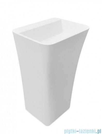Besco Assos S-Line umywalka wolnostojąca 40x50x85cm #UMD-AP-WO