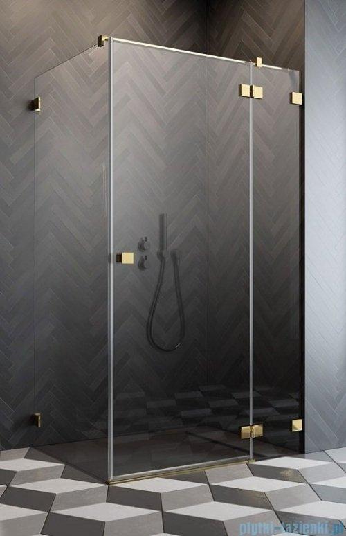 Radaway Essenza Pro Gold Kdj kabina 110x80cm prawa przejrzyste 10097110-09-01R/10098080-01-01