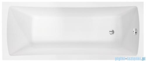Besco Optima 170x70cm wanna prostokątna + obudowa + syfon