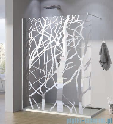 SanSwiss Walk-in Pur PDT4P Kabina 120x200cm szkło dekor drzewo PDT4P1201062