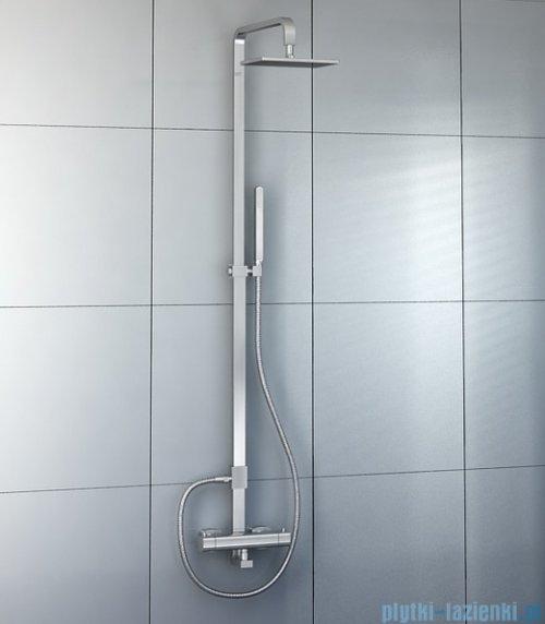 Kohlman Foxal zestaw prysznicowy z baterią termostatyczną