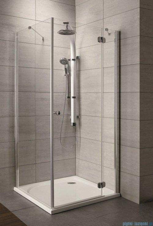 Radaway Torrenta Kdj Kabina prysznicowa 90x80 prawa szkło grafitowe