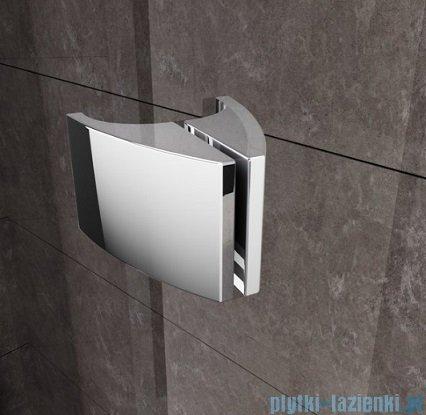 Ravak Drzwi prysznicowe obrotowe Pivot PDOP1-80 białe/białe transparent 03G40101Z1