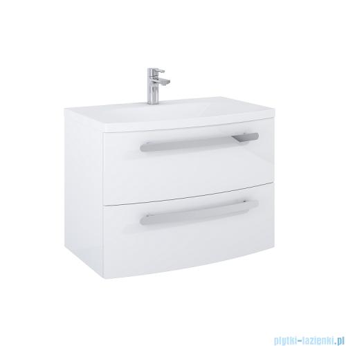 Elita Rolly szafka z umywalką 80x56x47cm biały połysk 167711/145580