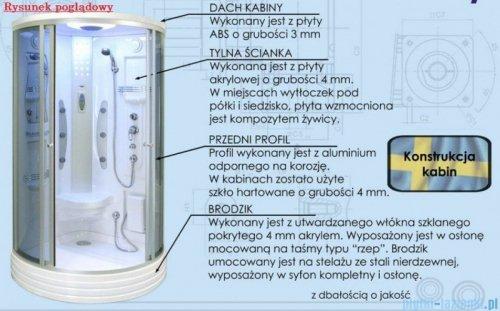 Duschy Kabina z hydromasażem 80x80cm model 5308