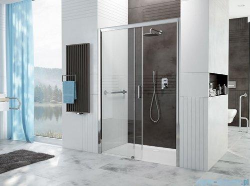 Sanplast Free Zone drzwi przesuwne D2L/FREEZONE 100x190 cm lewe przejrzyste 600-271-3110-38-401