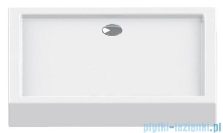 New Trendy Columbus brodzik prostokątny 120x80x14cm
