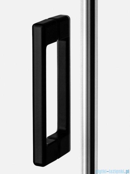 New Trendy Prime Black kabina prostokątna 130x80x200 cm prawa przejrzyste D-0323A/D-0128B