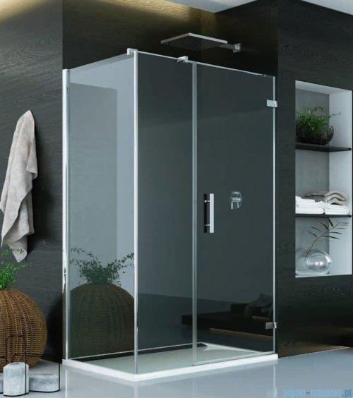 SanSwiss Pur PU31 Kabina prysznicowa 120x90cm prawa szkło przejrzyste PU31PD1201007/PUDT3P0901007