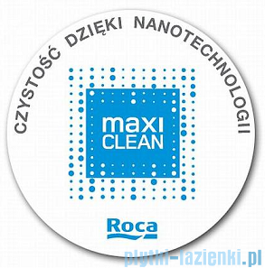 Roca Diverta Umywalka nablatowa 75x44cm ścienna powłoka Maxi Clean A32711000M