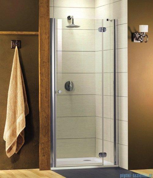 Radaway Torrenta DWJ Drzwi prysznicowe 110 prawe szkło grafitowe
