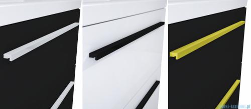 Elita Kwadro Plus szafka z umywalką 60x26x40cm biały połysk 166730/22052008N