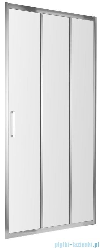 Omnires Chelsea drzwi prysznicowe 120x190cm przejrzyste NDT12XCRTR