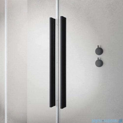 Radaway Furo Black PND II parawan nawannowy 140cm lewy szkło przejrzyste 10109738-54-01L/10112694-01-01