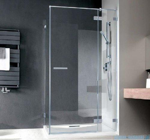 Radaway Euphoria KDJ Kabina prysznicowa 90x80 prawa szkło przejrzyste + brodzik Argos D + syfon