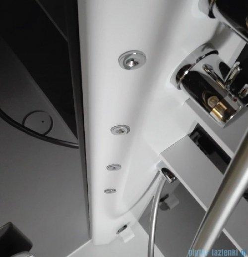 Novellini Glax 2 2.0 kabina masażowo-parowa 80x80 lewa total biała G22GF80ST5-1UU