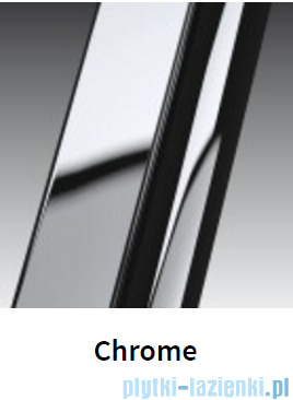 Novellini Drzwi prysznicowe przesuwne LUNES 2P 132 cm szkło przejrzyste profil chrom LUNES2P132-1K