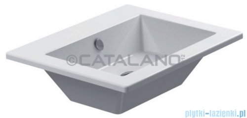 Catalano Star 58 umywalka meblowa  58x45 cm biała 158ST00