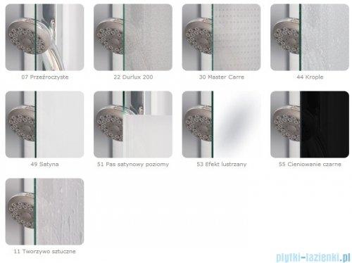 SanSwiss Pur PU4P Kabina półokrągła 75-120cm profil chrom szkło przezroczyste PU4P50SM11007