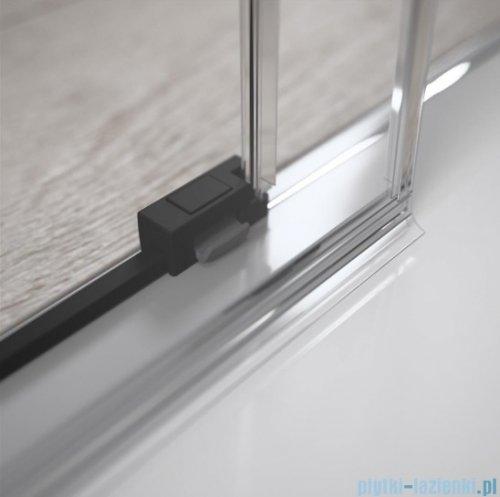 Radaway Idea Black Kdj kabina 100x100cm prawa szkło przejrzyste 387040-54-01R/387052-54-01L