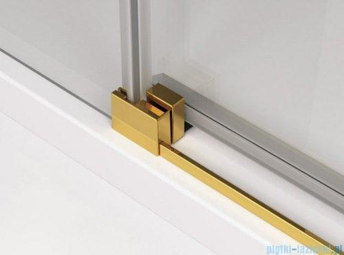 SanSwiss Cadura Gold Line drzwi przesuwne 70cm jednoskrzydłowe lewe z polem stałym CAE2G0701207