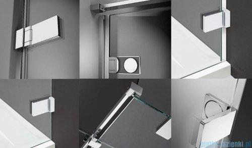 Radaway Arta Dwd+s kabina 90 (50L+40R) x100cm prawa szkło przejrzyste detale