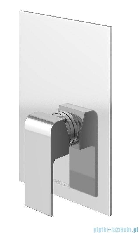 Kohlman Saxo zestaw prysznicowy chrom QW220SSP3
