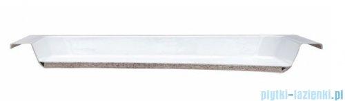 Massi Primero brodzik półokrągły 80x80cm biały MSBR-D101A-80-80
