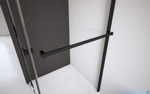 Radaway Modo X Black II kabina Walk-in 75x200 szkło przejrzyste 10mm 389275-54-01