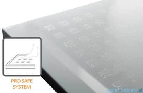 Sanplast Space Mineral brodzik prostokątny z powłoką 140x90x1,5cm+syfon 645-290-0570-01-002