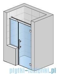 SanSwiss Pur PU31P Drzwi prawe wymiary specjalne do 160cm efekt lustrzany PU31PDSM21053