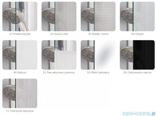 SanSwiss Top-Line TOPAC Wejście narożne 80cm profil biały Lewe TOPG08000407