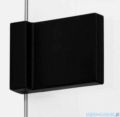 New Trendy Avexa Black kabina kwadratowa 80x100x200 cm przejrzyste EXK-1610