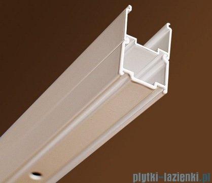 Ravak Blix BLPS ścianka boczna stała 90cm białe transparent Anticalc 9BH70100Z1