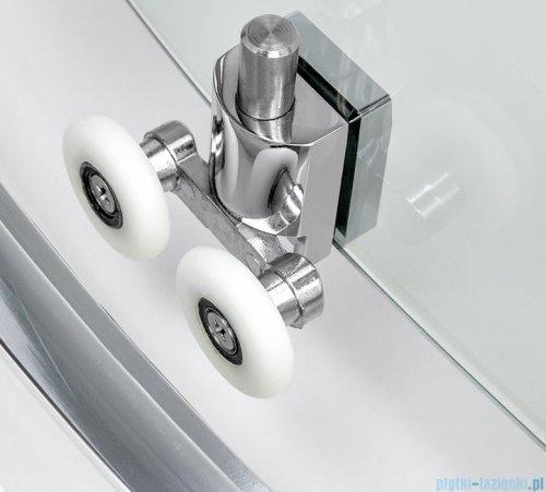 New Trendy New Varia kabina półokrągła 80x80x190 cm przejrzysta K-0495
