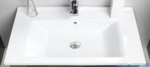 Antado Variete ceramic szafka z umywalką ceramiczną 72x43x40 szary połysk 670495/666788