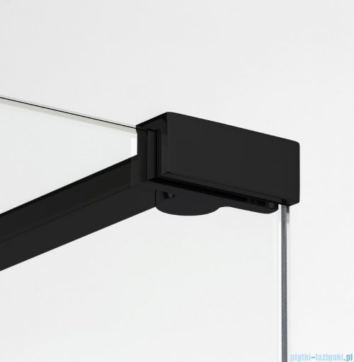 New Trendy New Modus Black kabina Walk-In 130x50x200 cm przejrzyste EXK-0069/EXK-0089