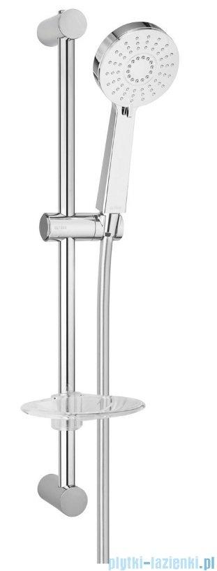 Oltens Motala Select Alling 60 zestaw prysznicowy z mydelniczką chrom 36005100