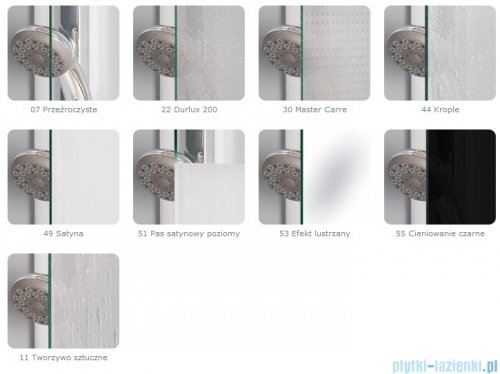 SanSwiss Top-Line Pięciokątna kabina prysznicowa TOP52 z drzwiami otwieranymi 100x100cm Durlux/srebrny mat TOP5261000122