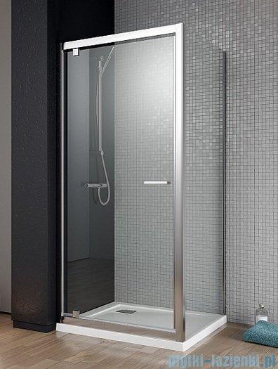 Radaway Twist DW+S Kabina prysznicowa 100x80 szkło brązowe