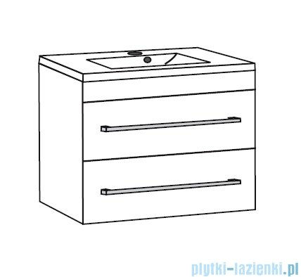 Antado Spektra ceramic szafka podumywalkowa 2 szuflady 62x43x50 stare drewno 670648