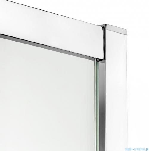 New Trendy New Varia kabina trójścienna 100x80x190 cm przejrzysta profile