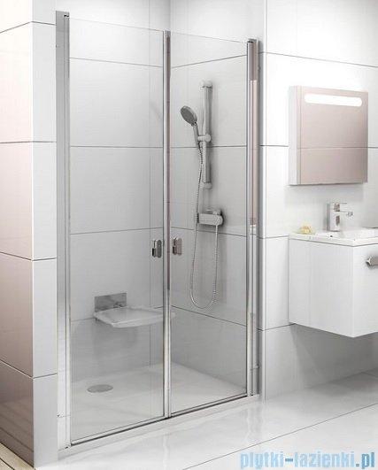 Ravak Chrome CSDL2 drzwi prysznicowe 100cm aluminium transparent 0QVACC0LZ1
