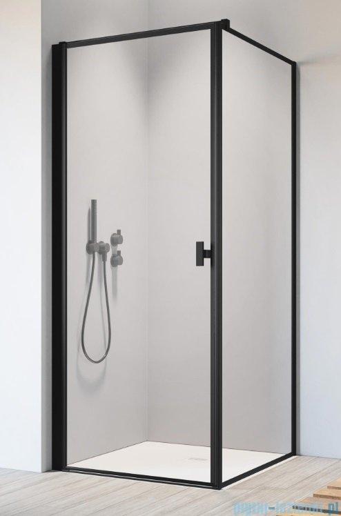 Radaway Nes Black Kdj I Frame kabina 90x75cm lewa, industrialny, loft
