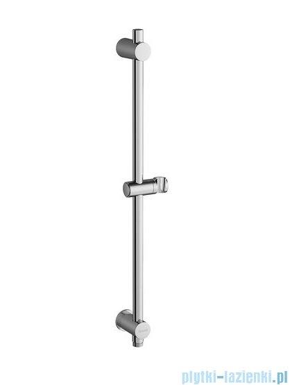 Ravak przesuwny drążek prysznica 60cm z ujściem prysznicowym X07P342