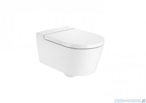 Roca Inspira Round Rimless miska wc podwieszana Maxi Clean