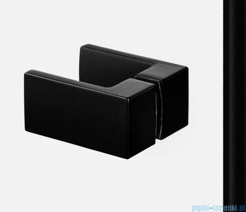 New Trendy Avexa Black kabina prostokątna 100x80x200 cm przejrzyste prawa EXK-1587