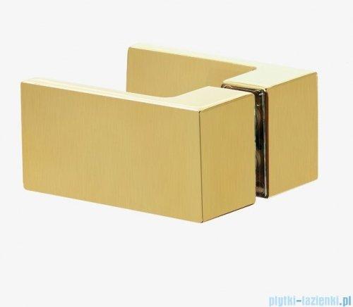 New Trendy Avexa Gold kabina prostokątna 90x80x200 cm przejrzyste lewa EXK-1742